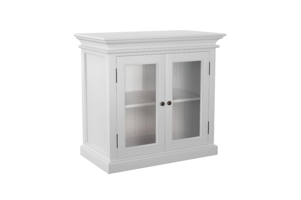 NovaSolo Display Buffet with 2 Glass Doors-1