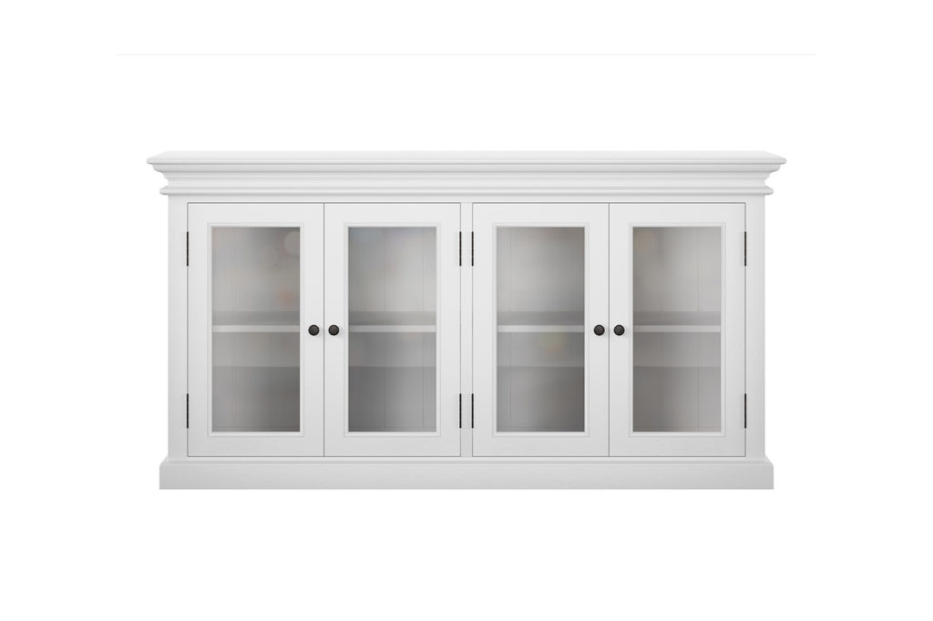 NovaSolo Display Buffet with 4 Glass Doors-3