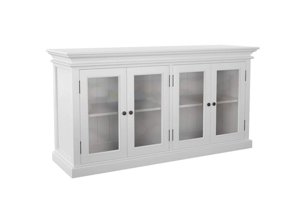 NovaSolo Display Buffet with 4 Glass Doors-1