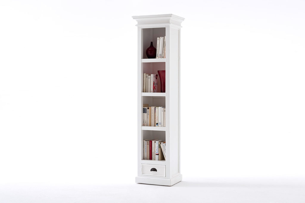 NovaSolo Bookshelf with Drawer-2