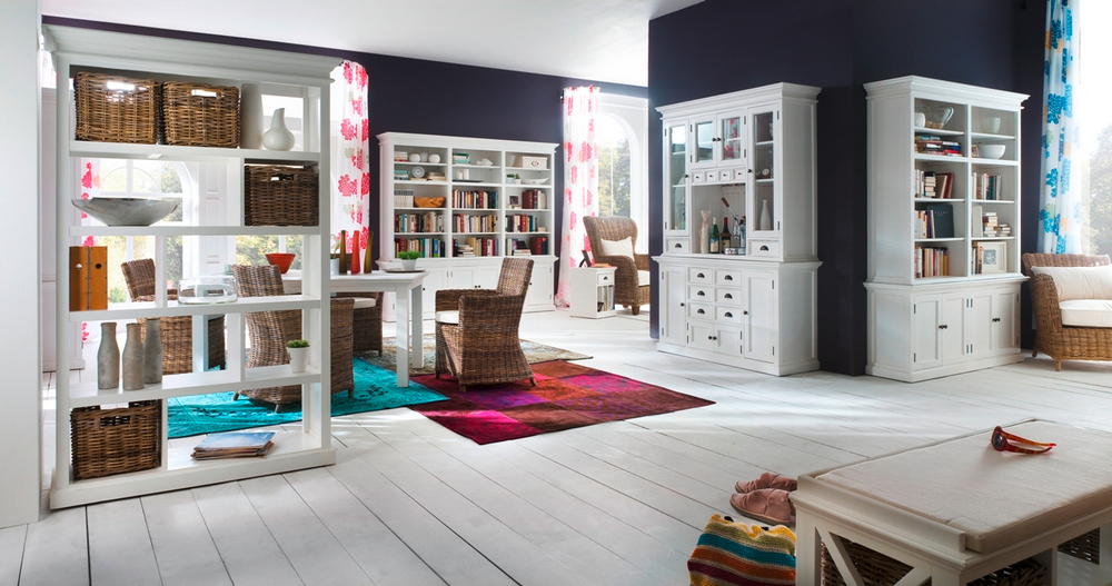 Halifax Room Divider with Basket Set_3