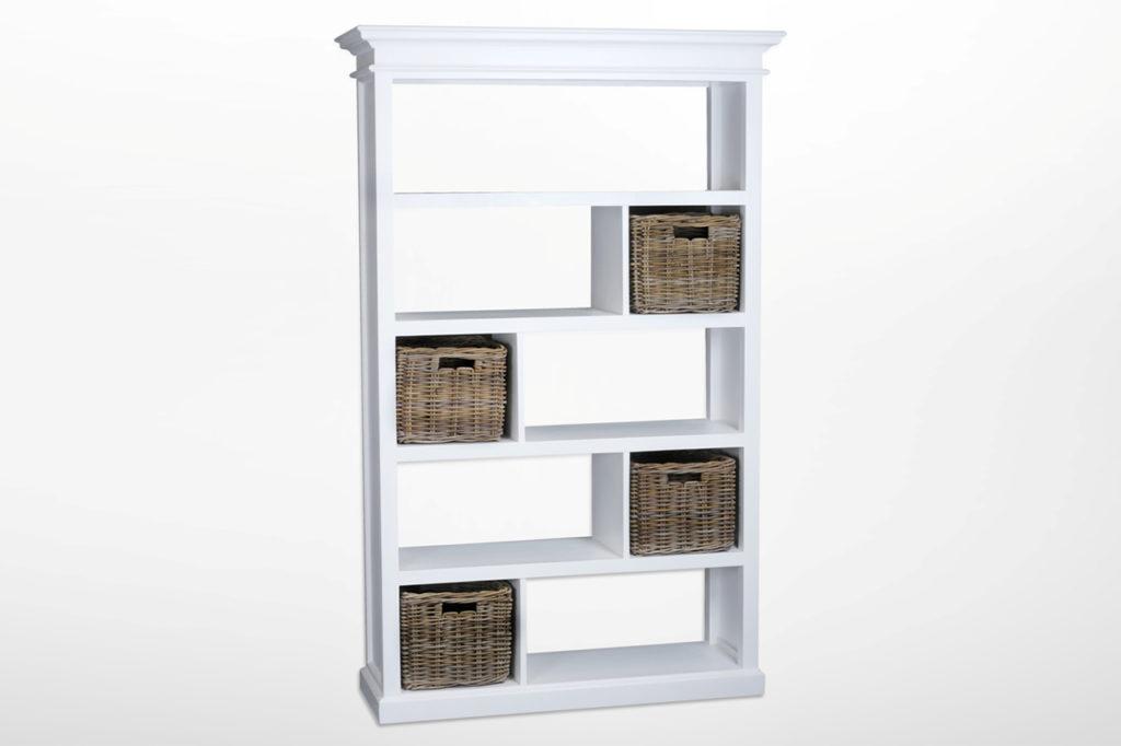 NovaSolo Room Divider with Basket Set-2