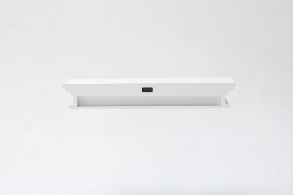 NovaSolo Floating Wall Shelf, Long-5