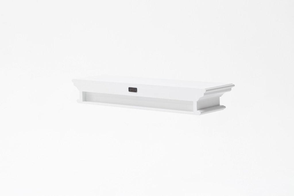 NovaSolo Floating Wall Shelf, Long-6