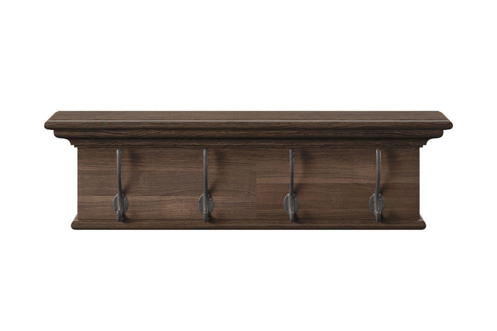 NovaSolo Four - Hook Coat Rack-5
