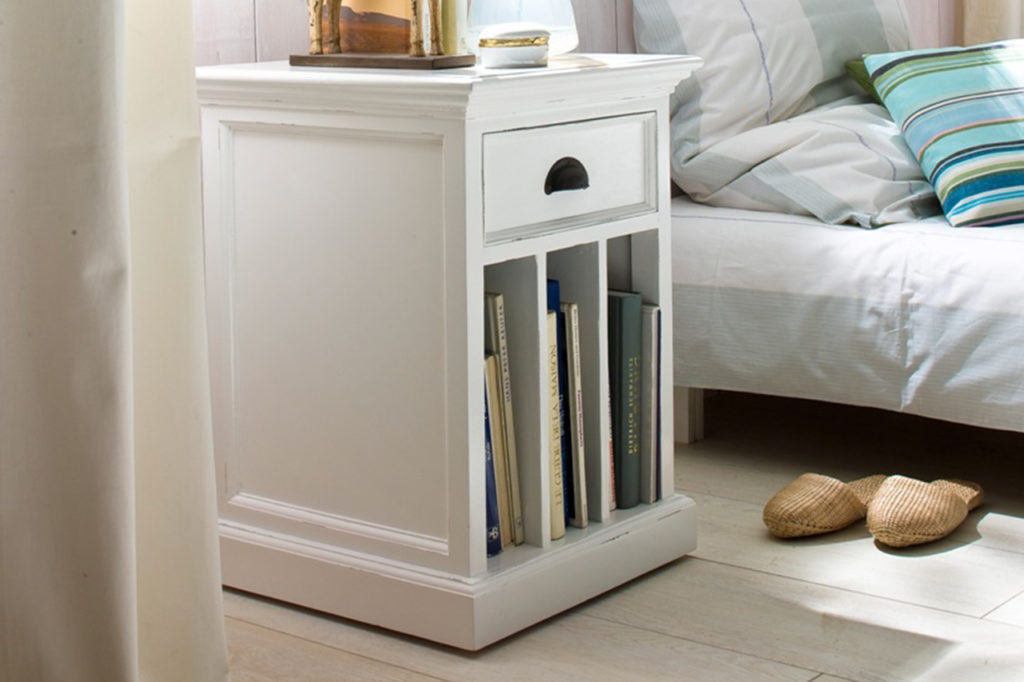 NovaSolo Bedside Table with Dividers-3