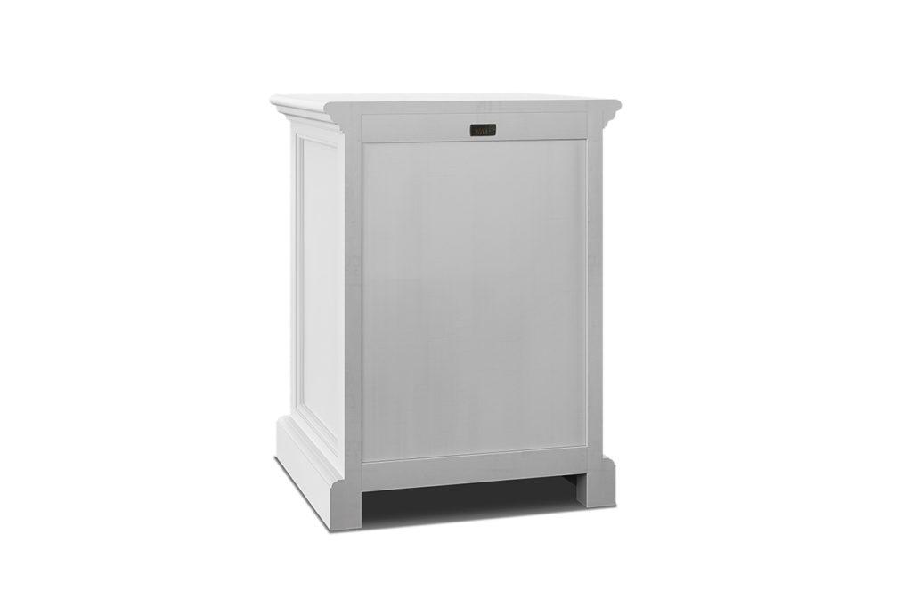 NovaSolo Bedside Table with Shelves-4