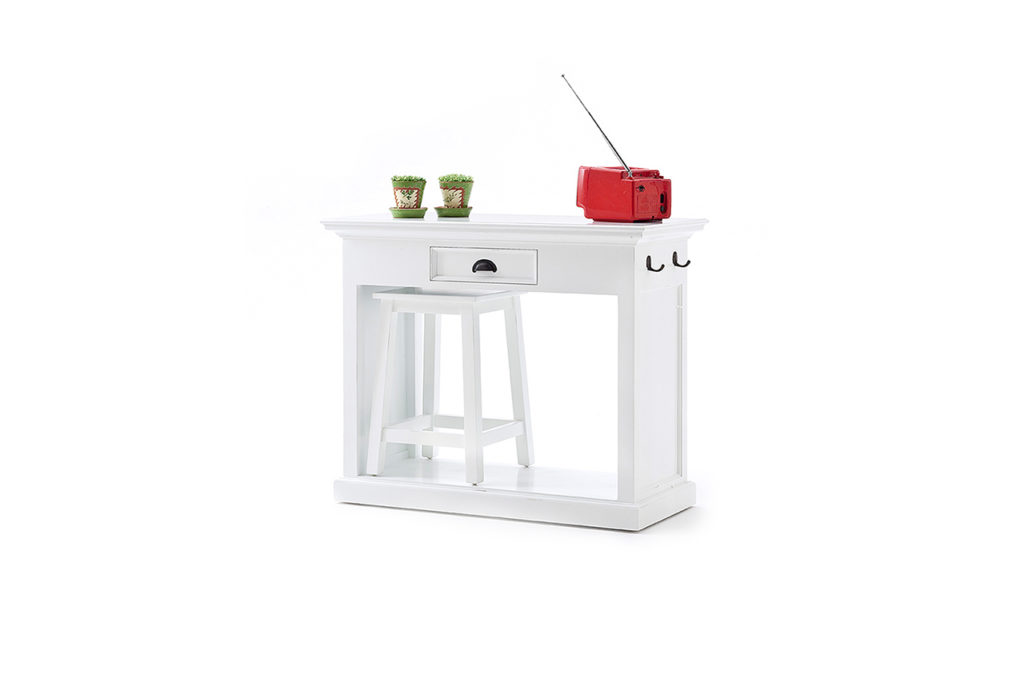 NovaSolo Kitchen Table Set with Stools & Cushions-5