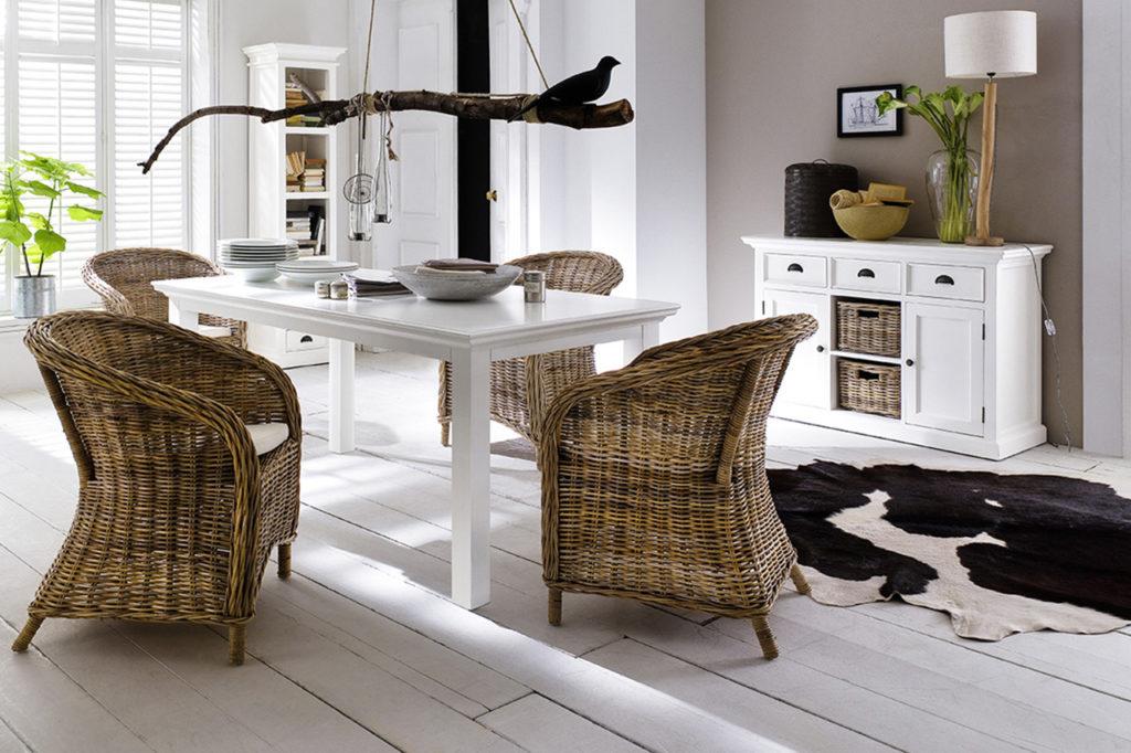 NovaSolo Bonsun Armchair with Cushion (Set of 2)-2