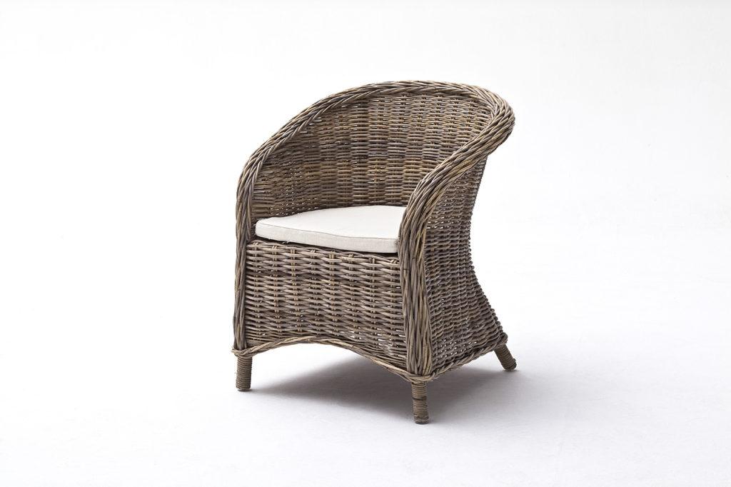 NovaSolo Bonsun Armchair with Cushion (Set of 2)-5