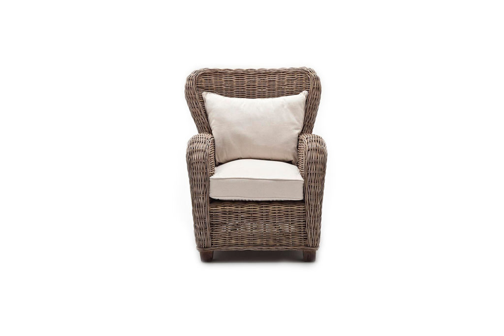 NovaSolo Queen Chair with Seat & Back Cushions-3