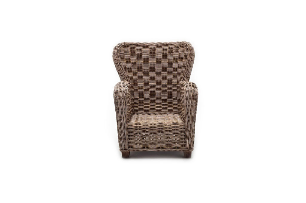 NovaSolo Queen Chair with Seat & Back Cushions-4