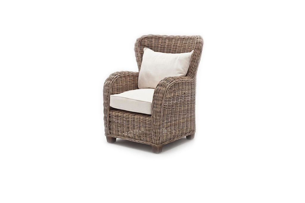 NovaSolo Queen Chair with Seat & Back Cushions-5