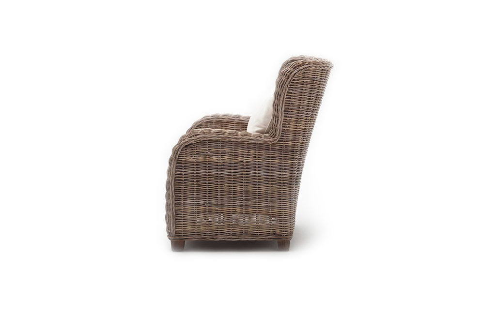 NovaSolo Queen Chair with Seat & Back Cushions-9
