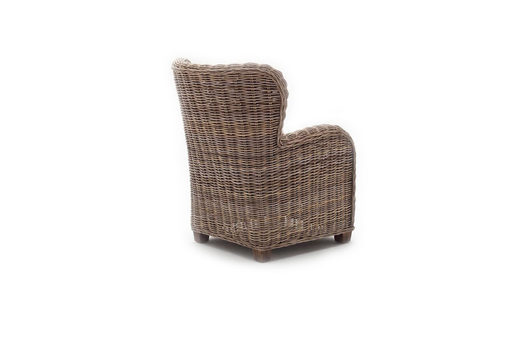 NovaSolo Queen Chair with Seat & Back Cushions-8