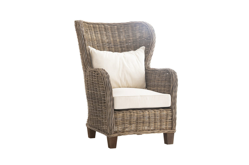 NovaSolo King Chair with Seat & Back Cushions-3