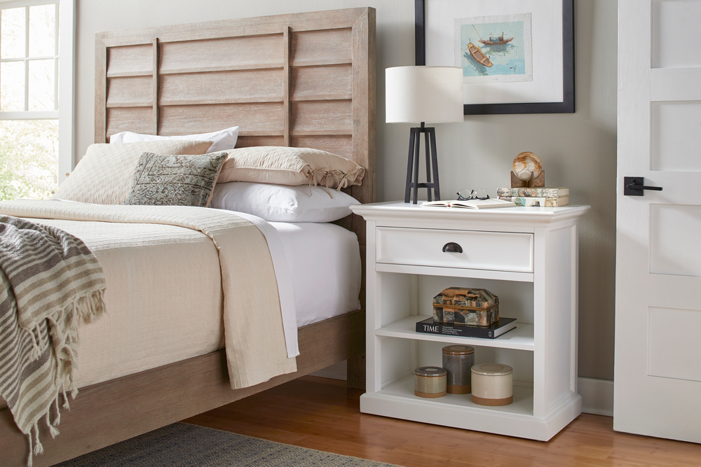Halifax Grand Bedside Table with Shelves_9