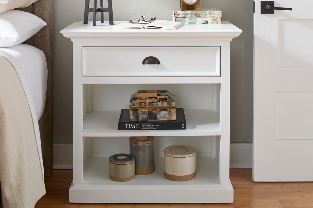 Halifax Grand Bedside Table with Shelves_10