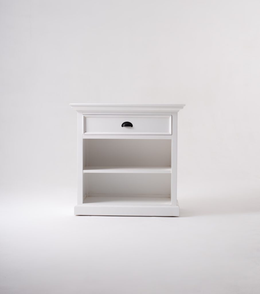 Halifax Grand Bedside Table with Shelves_1
