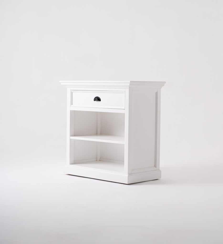 Halifax Grand Bedside Table with Shelves_2