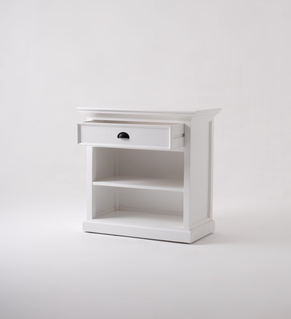 Halifax Grand Bedside Table with Shelves_3