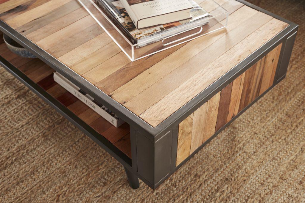 Nordic Coffee Table Open Shelf_5