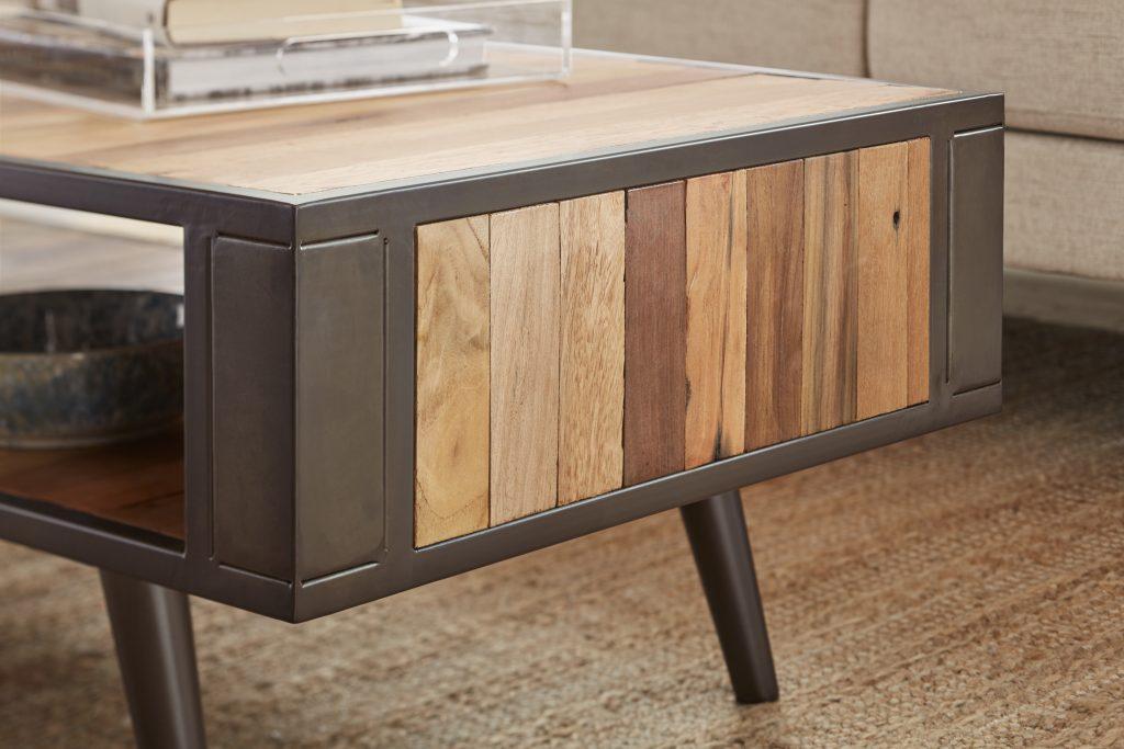 Nordic Coffee Table Open Shelf_6