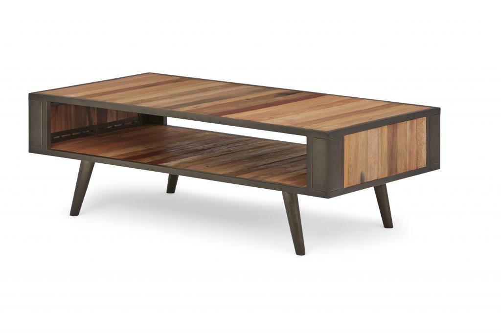 Nordic Coffee Table Open Shelf_2
