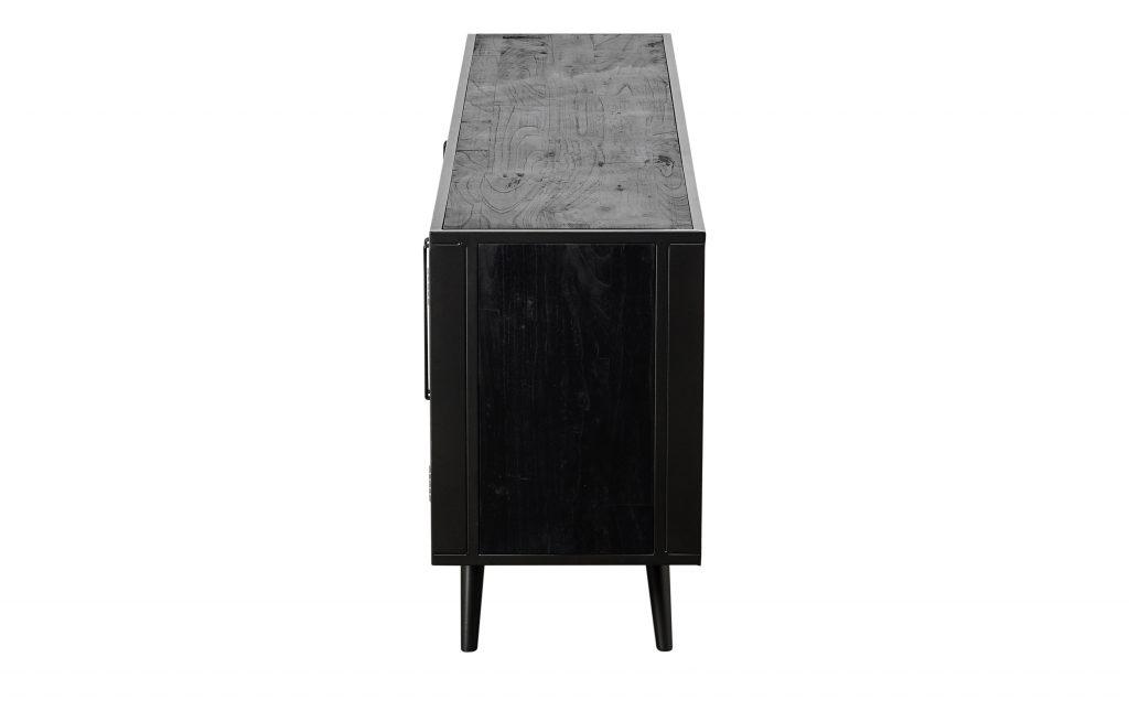 Nordic Mindi Rattan TV Dresser 4 Doors_4