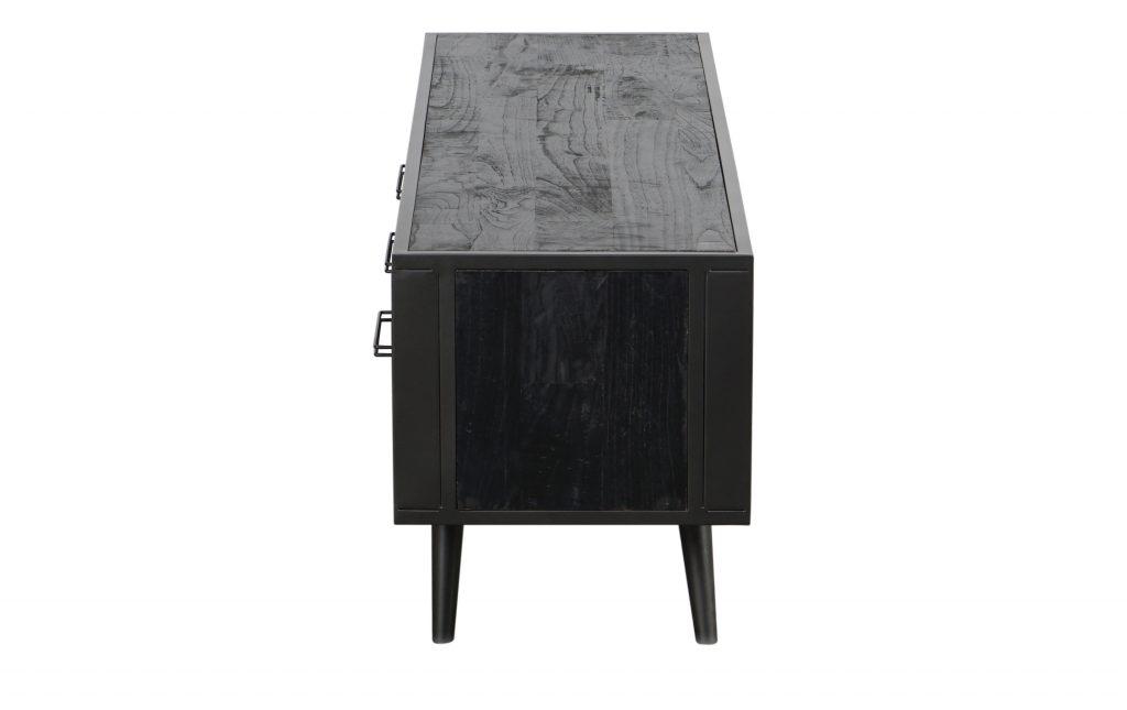 Nordic Mindi Rattan TV Dresser 3 Drawers_4