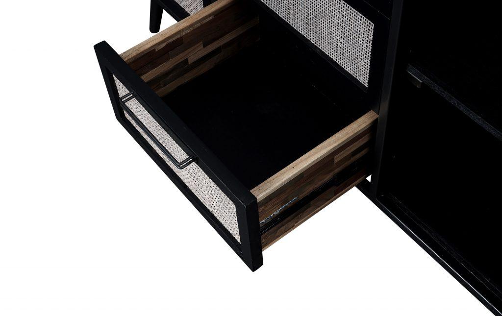 Nordic Mindi Rattan Buffet 2 Doors 3 Drawers_6