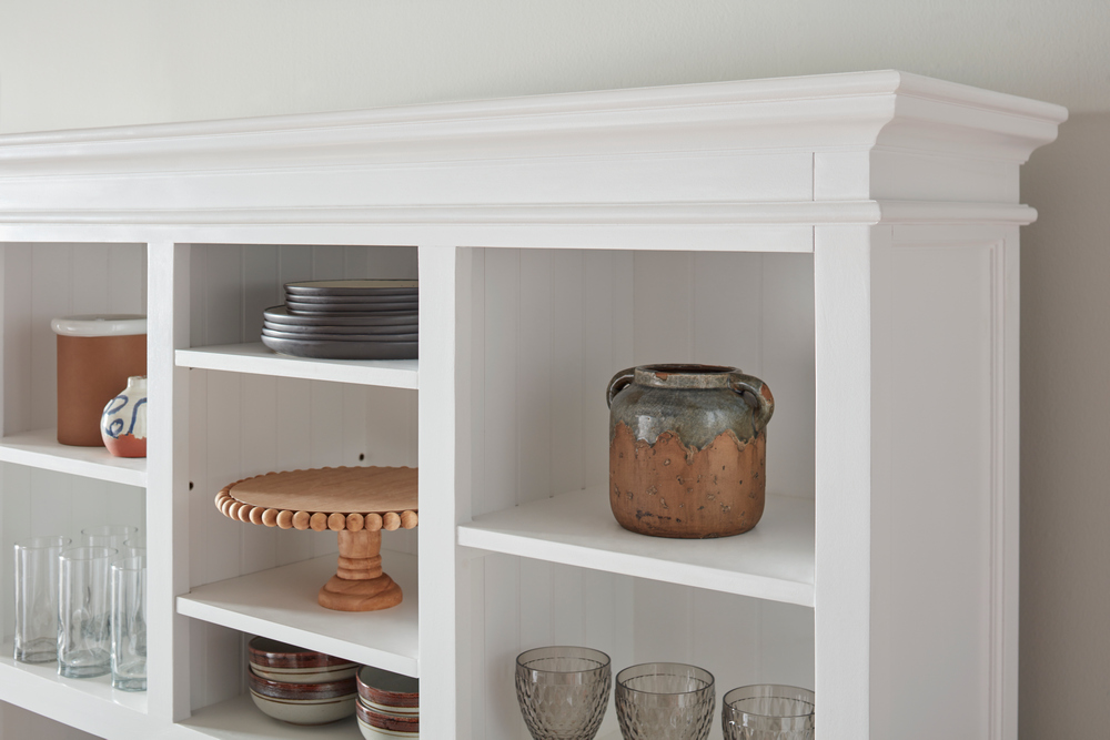 Halifax Buffet Hutch Unit with 2 Adjustable Shelves_20