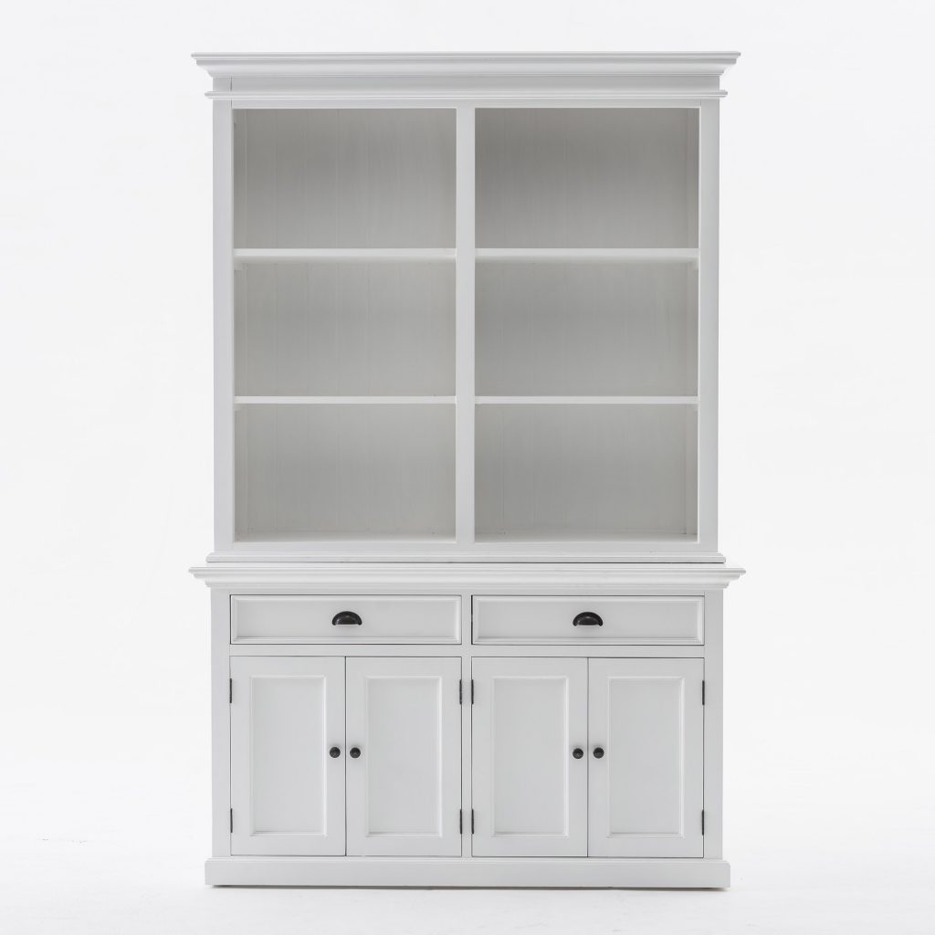 Halifax Buffet Hutch Unit with 6 Shelves_1