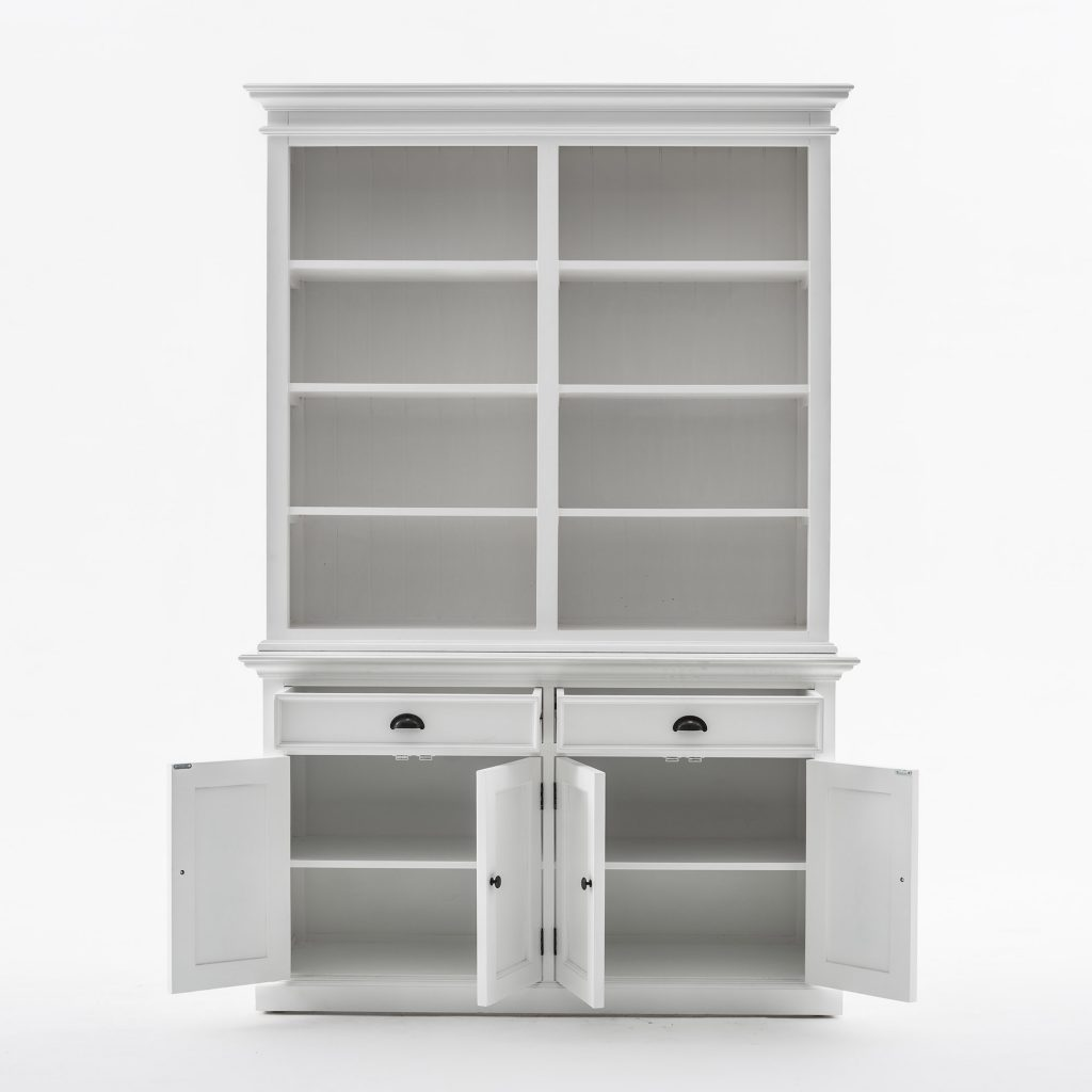 Halifax Buffet Hutch Unit with 8 Shelves_2
