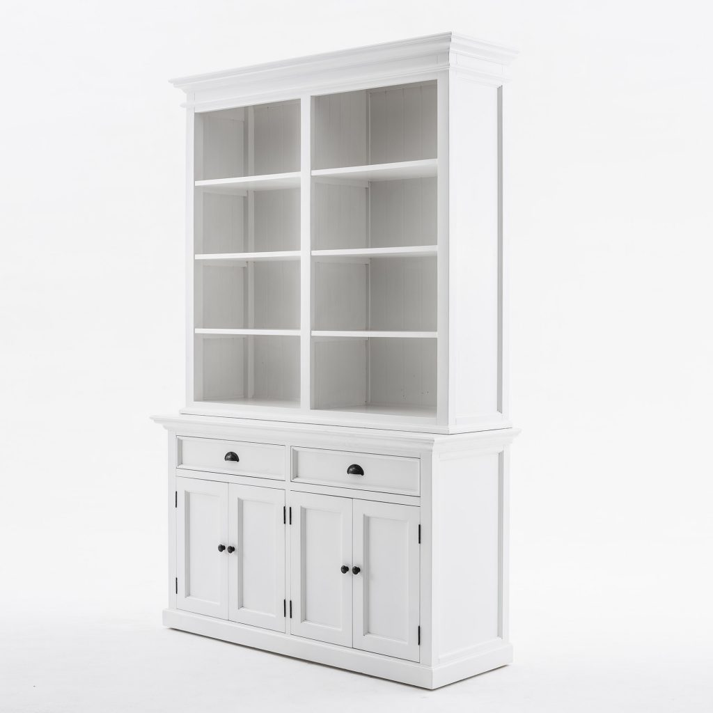 Halifax Buffet Hutch Unit with 8 Shelves_3