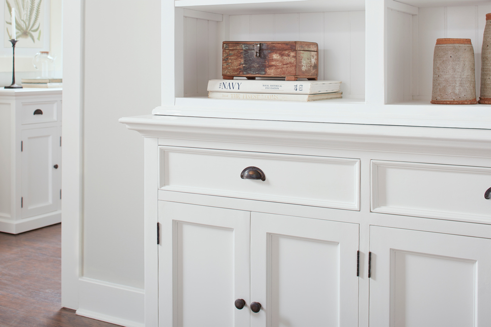 Halifax Buffet Hutch Unit with 8 Shelves_21
