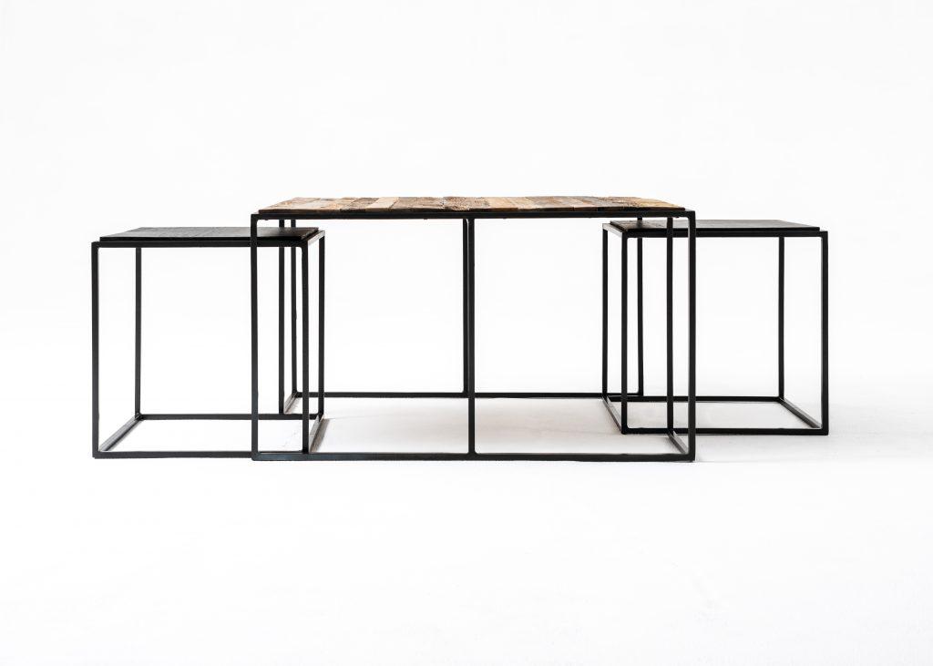 Rustika Nesting Coffee Table Set 80cm_2