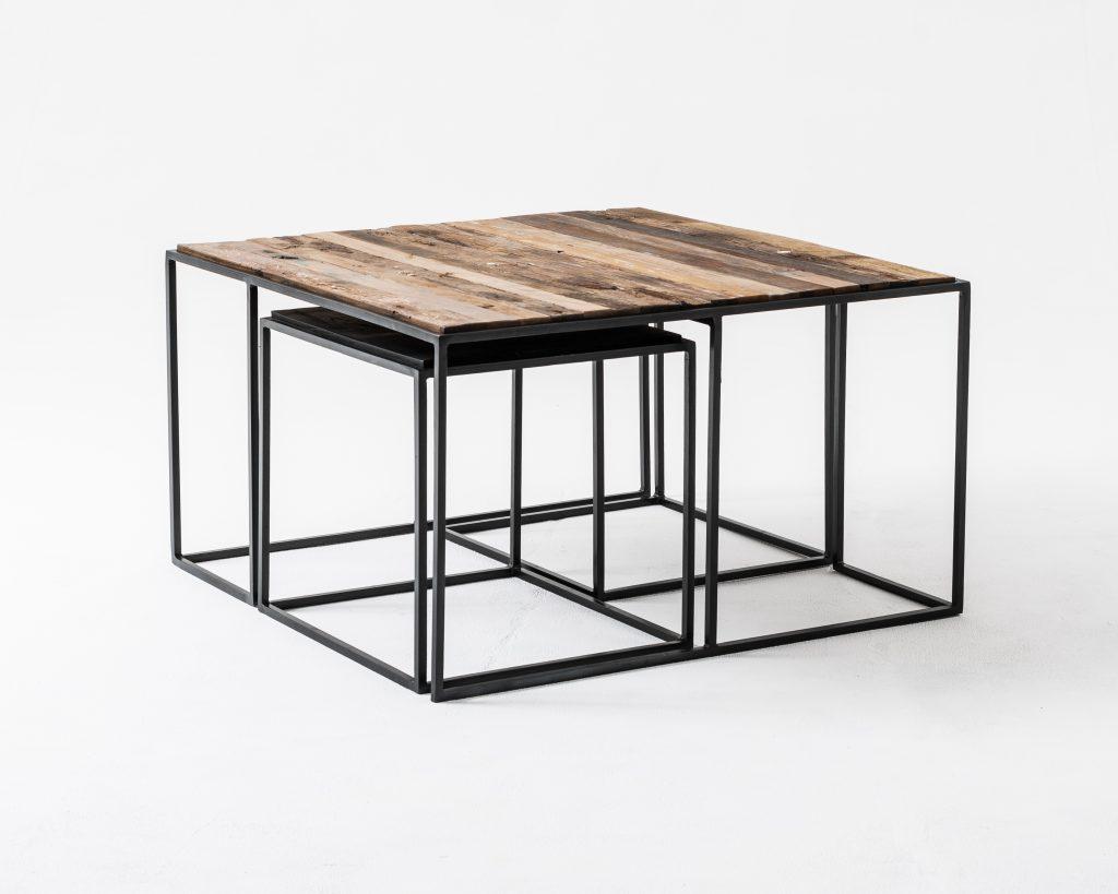 Rustika Nesting Coffee Table Set 80cm_4