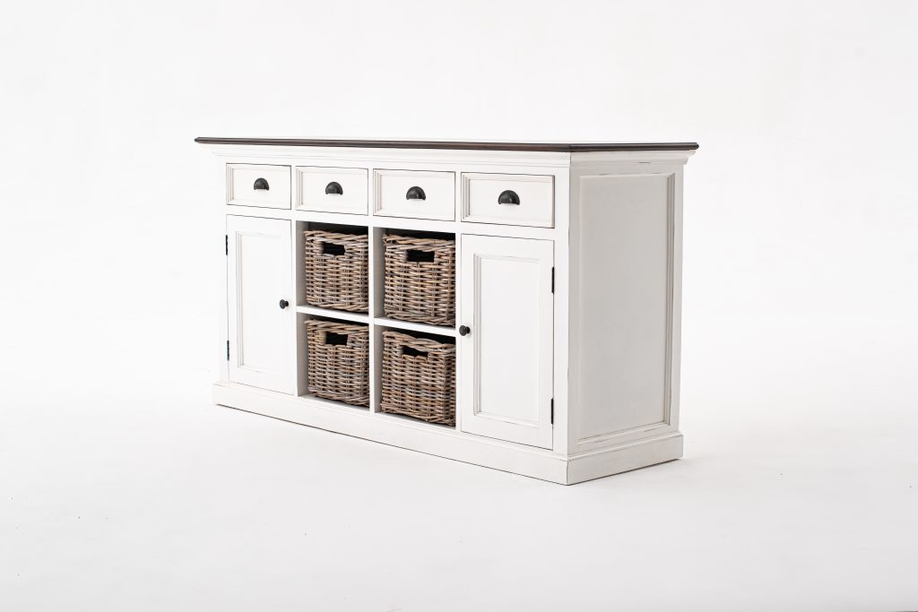 Halifax Accent Buffet with 4 Baskets_2