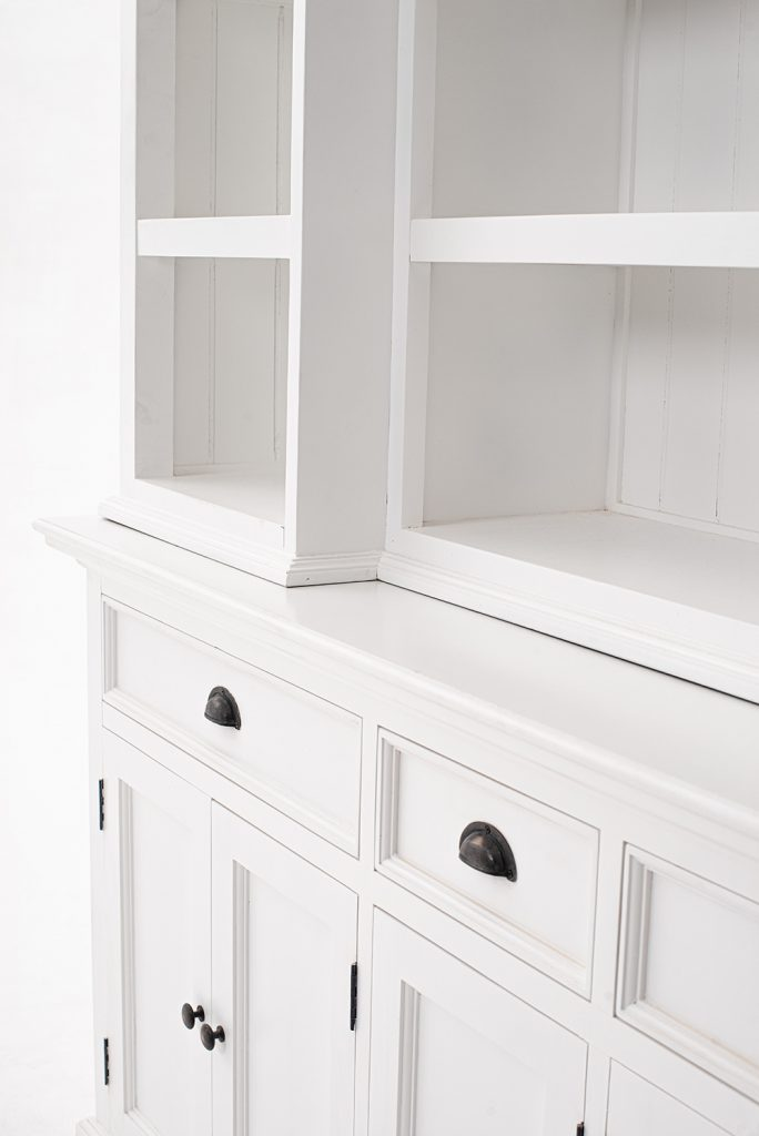 Halifax Kitchen Hutch Cabinet with 5 Doors 3 Drawers_17