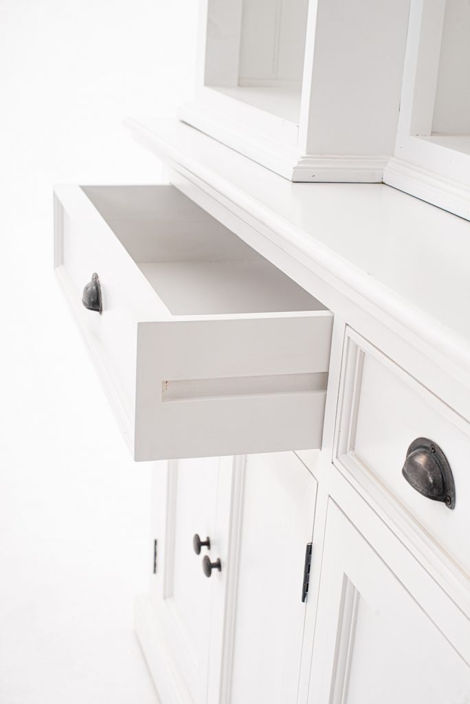 Halifax Kitchen Hutch Cabinet with 5 Doors 3 Drawers_16