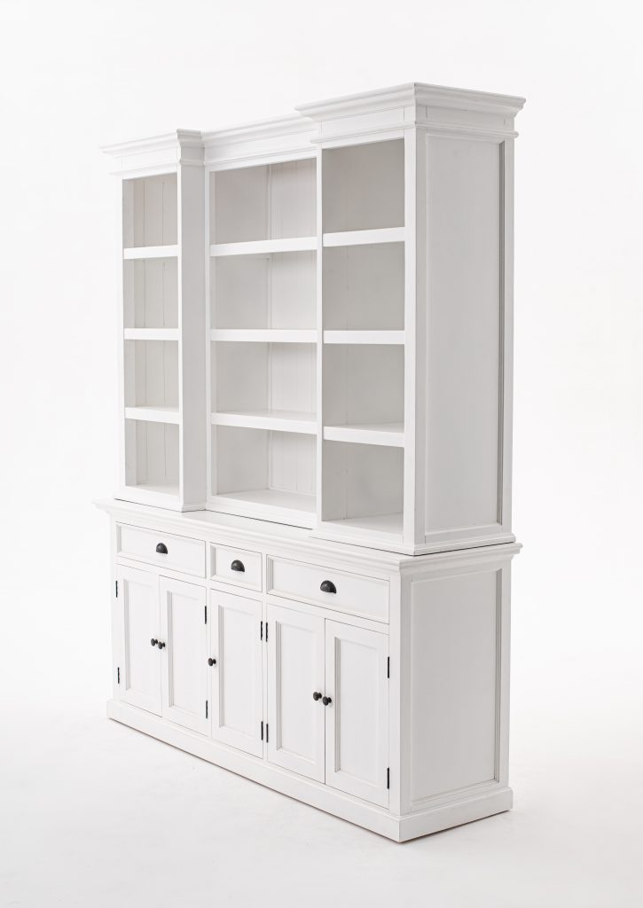 Halifax Kitchen Hutch Cabinet with 5 Doors 3 Drawers_2