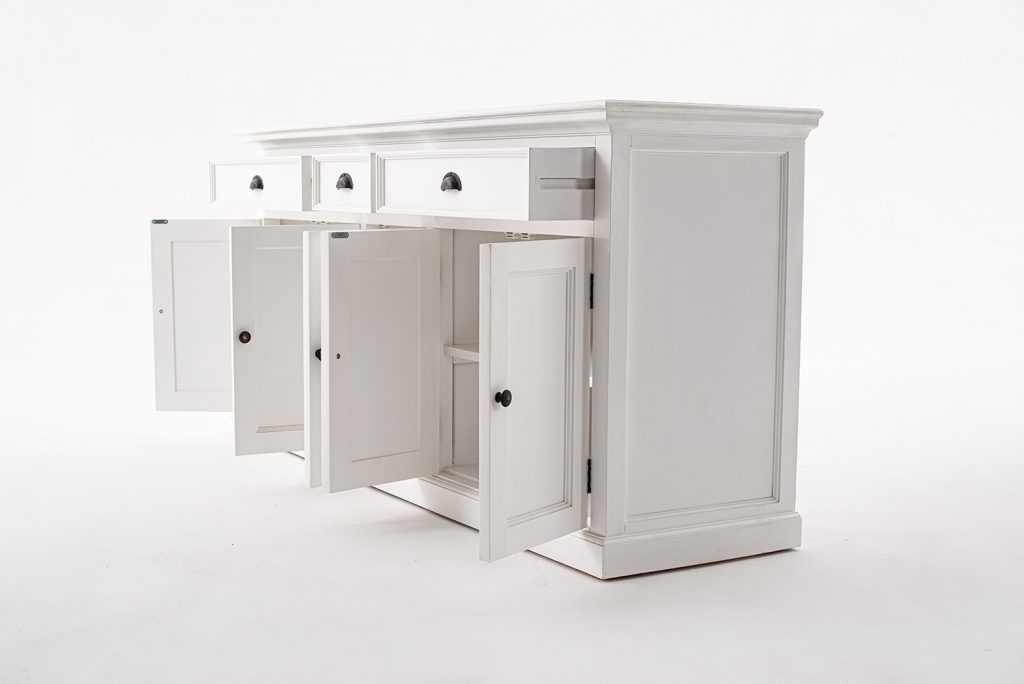 Halifax Kitchen Hutch Cabinet with 5 Doors 3 Drawers_13