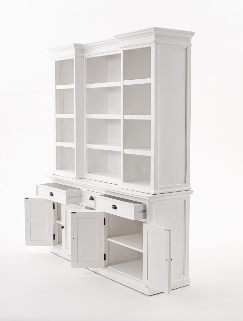 Halifax Kitchen Hutch Cabinet with 5 Doors 3 Drawers_3