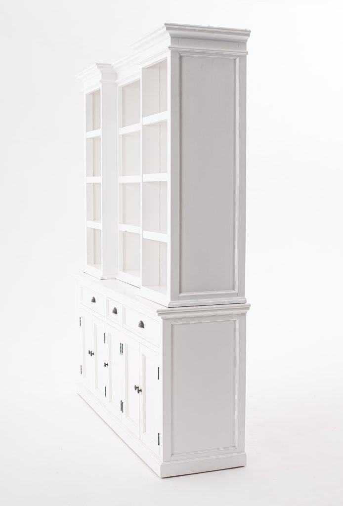 Halifax Kitchen Hutch Cabinet with 5 Doors 3 Drawers_4