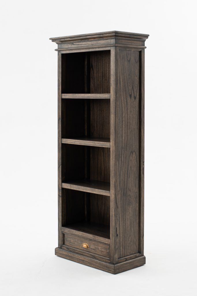 Halifax Mindi Bookcase with 1 Drawer_2