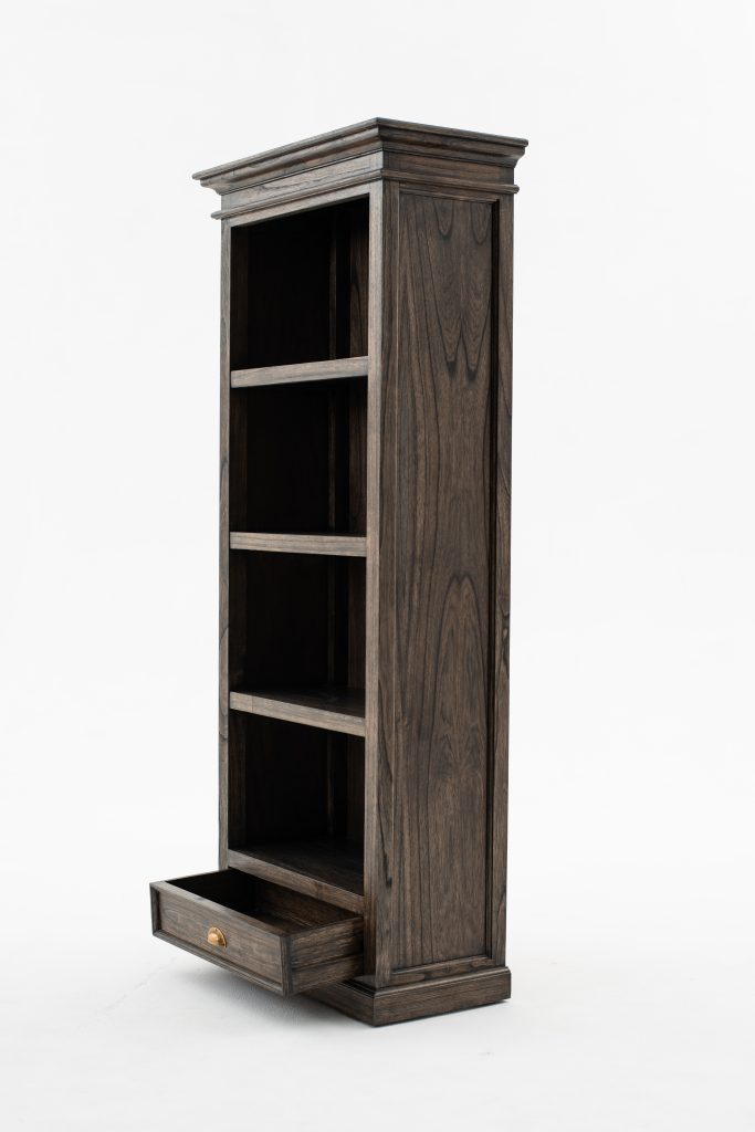 Halifax Mindi Bookcase with 1 Drawer_3