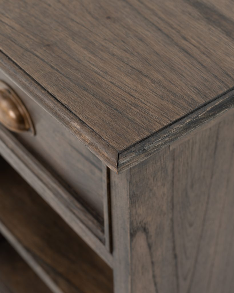 Halifax Mindi Bedside Table with Shelves_9