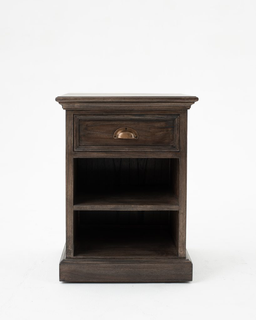 Halifax Mindi Bedside Table with Shelves_1