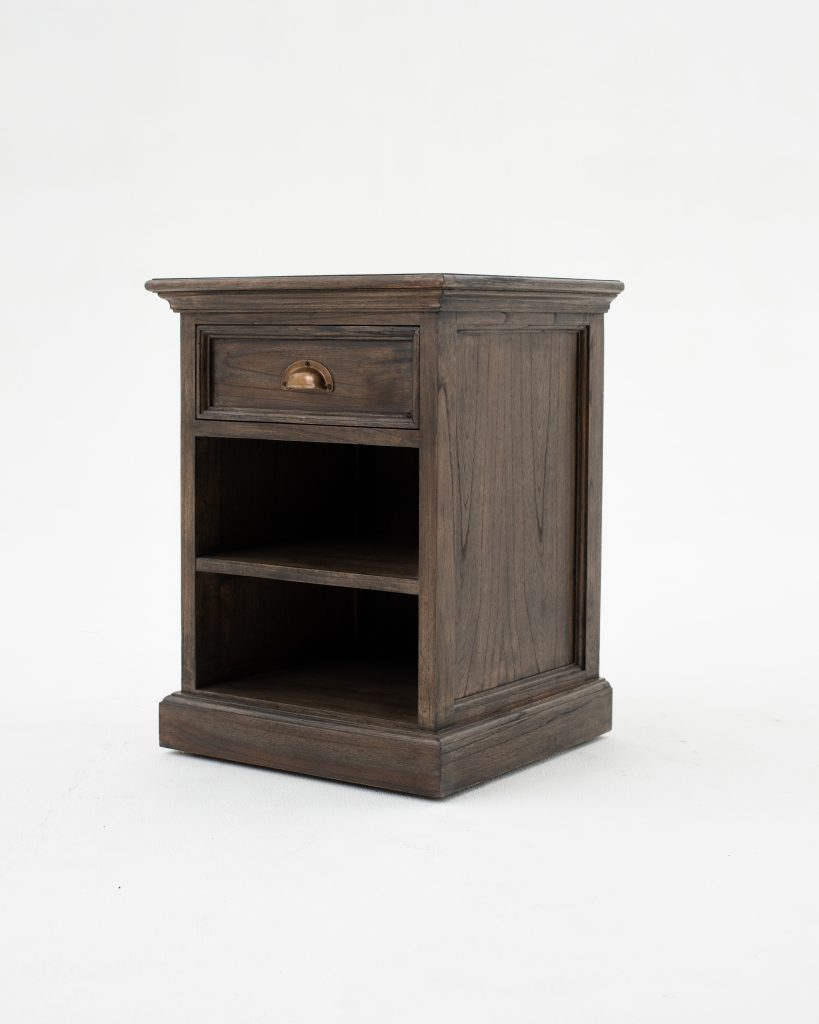 Halifax Mindi Bedside Table with Shelves_2